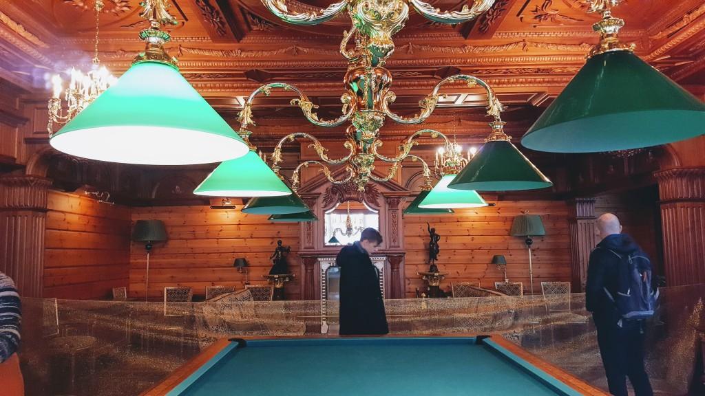 Межигір'я - Більярдна кімната